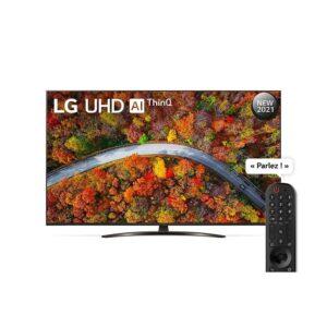Smart TV LG UP81 55 pouces 4K UHD 55UP8150PVB